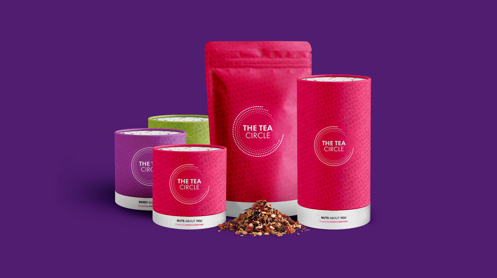 Tea Circle Packaging Project by Fishfinger Creative Agency
